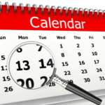 Modifications du calendrier régional